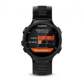 Zegarek sportowy Garmin Forerunner 735XT czar-szar.