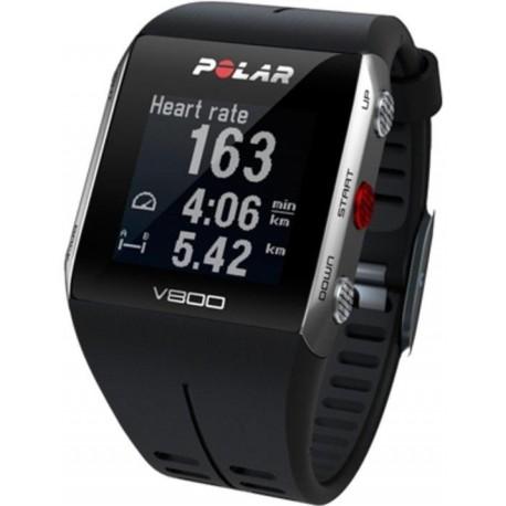 Zegarek sportowy Polar V800 HR czarny