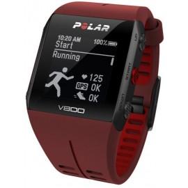 Zegarek sportowy Polar V800 HR czerwony