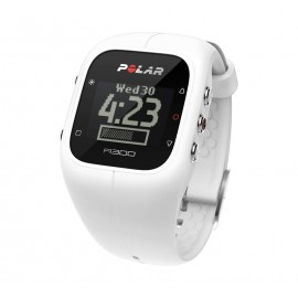 Zegarek sportowy Polar A300 HR biały
